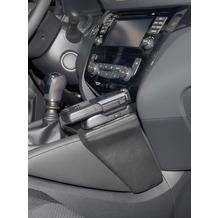 Kuda Lederkonsole für Nissan Qashqai ab 11/2013 (J11) Echtleder schwarz