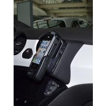 Kuda Lederkonsole für Opel Adam ab 2013 Mobilia / Kunstleder schwarz