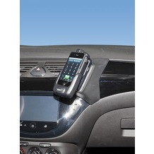 Kuda Lederkonsole für Opel Corsa E ab 2014 Echtleder schwarz