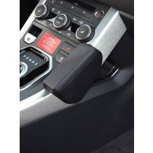 Kuda Lederkonsole für Range Rover Evoque ab 09/2011 Mobilia / Kunstleder schwarz