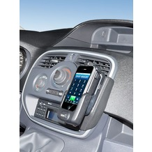 Kuda Lederkonsole für Renault Kangoo ab 2013 Echtleder schwarz