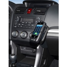 Kuda Lederkonsole für Subaru Forester ab 03/2013 Kunstleder schwarz