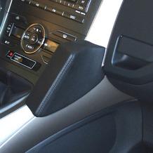 Kuda Lederkonsole für Toyota Auris ab 03/07 Mobilia / Kunstleder schwarz