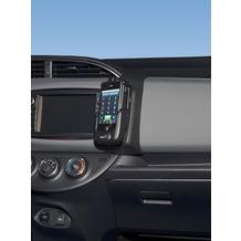 Kuda Lederkonsole für Toyota Yaris ab 2014 Kunstleder schwarz
