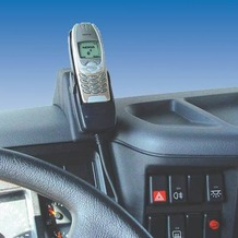 Kuda Lederkonsole für Volvo FL-6 ab 03 Mobilia / Kunstleder schwarz