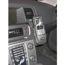 Kuda Lederkonsole für Volvo S60 & V60 ab 2010 Echtleder schwarz