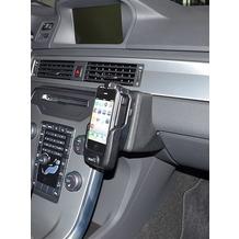 Kuda Lederkonsole für Volvo XC70/V70/S80 ab 09/2011 Kunstleder schwarz