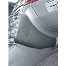 Kuda Lederkonsole VOLVO S80/V80 ab 10/98 neue Form Echtleder schiefergrau (Farbe 0201)