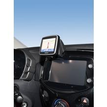 Kuda Navigationskonsole für Citroen C1/ Peu 108/ Toyota Aygo ab 2014 Navi Kunstleder schwarz