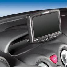 Kuda Navigationskonsole für Citroen C3 Pluriel ab 6/03, C2 ab 9/03 Kunstleder