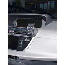 Kuda Navigationskonsole für Citroen C4 Picasso ab 2013 Navi Kunstleder schwarz