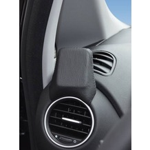 Kuda Navigationskonsole für Fiat Punto Evo 11/2009 & Punto ab 2012 Navikonsole Echtleder schwarz