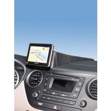Kuda Navigationskonsole für Hyundai i10 ab 11/2013 Navi Kunstleder schwarz