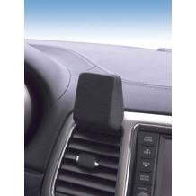 Kuda Navigationskonsole für Jeep Grand Cherokee ab 2010 bis 2013 Echtleder schwarz