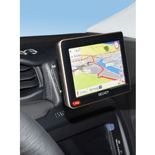 Kuda Navigationskonsole für Jeep Renegade ab 2015 Navi Kunstleder schwarz