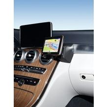 Kuda Navigationskonsole für Mercedes C-Klasse ab 2014 (W205) Navi Kunstleder schwarz 5295
