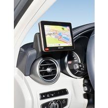Kuda Navigationskonsole für Mercedes C-Klasse ab 2014 (W205) Navi Kunstleder schwarz 5335