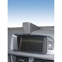 Kuda Navigationskonsole für Navi Audi Q5 ab 04/2008 Echtleder schwarz