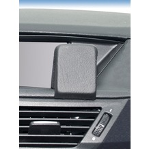 Kuda Navigationskonsole für Navi BMW X1 ab 10/09 Mobilia / Kunstleder schwarz