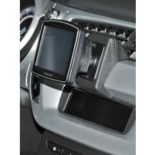 Kuda Navigationskonsole für Navi Citroen C3 2010 & DS3 Echtleder schwarz
