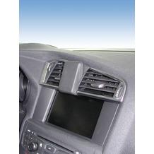 Kuda Navigationskonsole für Navi Citroen C4 10/2010- & DS4 05/2011- Echtleder schwarz