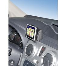 Kuda Navigationskonsole für Navi Dacia Dokker ab 2013/ Lodgy ab 2012 Kunstleder schwarz