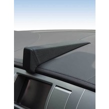 Kuda Navigationskonsole für Navi Jaguar XF 03/2009 Echtleder schwarz