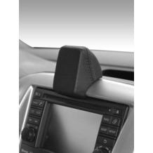 Kuda Navigationskonsole für Navi Nissan NV 200 ab 07/2009 Mobilia / Kunstleder schwarz