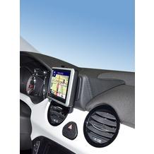 Kuda Navigationskonsole für Navi Opel Adam ab 2013 Kunstleder schwarz