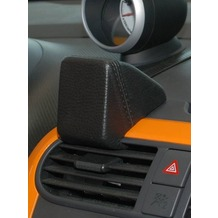 Kuda Navigationskonsole für Navi Opel Agila / Suzuki Splash ab 04/08 Mobilia / Kunstleder schwarz