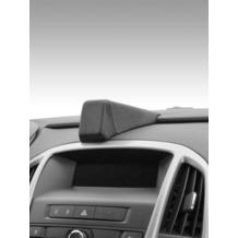 Kuda Navigationskonsole für Navi Opel Astra J ab 2009 Echtleder schwarz