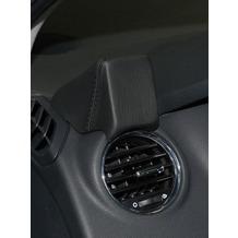 Kuda Navigationskonsole für Navi Peugeot 3008 07/2009 & 5008 ab 2009 Echtleder schwarz