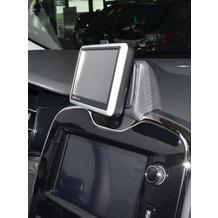 Kuda Navigationskonsole für Navi Renault Clio ab 2013 Mobilia / Kunstleder schwarz
