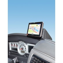 Kuda Navigationskonsole für Navi Renault Magnum ab 2010 bis 2013 Mobilia / Kunstleder schwarz