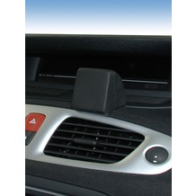 Kuda Navigationskonsole für Navi Renault Scenic 05/2009 Mobilia / Kunstleder schwarz