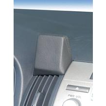 Kuda Navigationskonsole für Navi Toyota Corolla Verso ab 05/04 Mobilia / Kunstleder schwarz