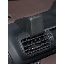 Kuda Navigationskonsole für Navi Toyota iQ (01.2009-) Echtleder schwarz