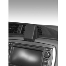 Kuda Navigationskonsole für Navi Toyota Yaris ab 10/2011 Echtleder schwarz
