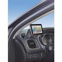 Kuda Navigationskonsole für Navi Volvo V40 ab 10/2012/Cross Country Echtleder schwarz