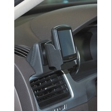 Kuda Navigationskonsole für Navi VW Touareg ab 06/2010 Mobilia / Kunstleder Schwarz