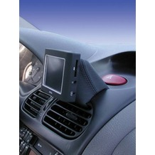 Kuda Navigationskonsole für Peugeot 206 ab 10/98 /Cabrio 206 CC Kunstleder