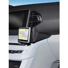 Kuda Navigationskonsole für Peugeot 308 ab 2013 Navi Kunstleder schwarz
