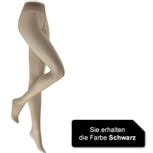 Kunert Damen Feinstrumpfhose Chinchillan 20 Black 36/38