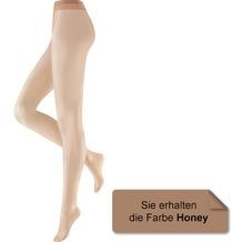 Hudson Damen Fein Strumpfhose LIGHT 8 Honey 36/38
