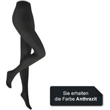 Kunert Damen Feinstrumpfhose Velvet 40 Anthrazit 36/38
