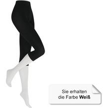 Kunert Damen Legging Fein Velvet 80 White 38/40