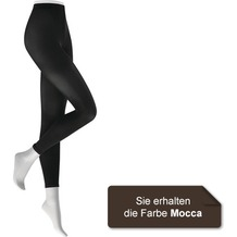 Kunert Damen Legging Fein Warm up 60 Mocca 38/40