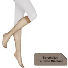 Kunert Fein Kniestrumpf Glatt & Softig 20 Diamant 35/38