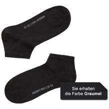 Hudson Grobstrick Füßling 2er Pack Only Grau-mel. 35/38