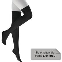 Kunert Overknee Grobstrick Liz Lichtgrau 35/38
